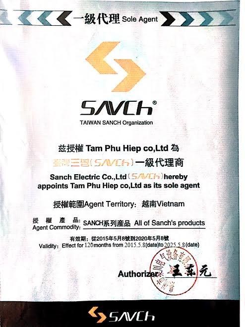 Lịch Sử biến Tần SANCH